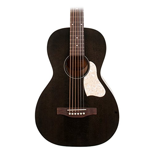 buy art lutherie roadhouse parlor acoustic electric guitar faded black at guitar center. Black Bedroom Furniture Sets. Home Design Ideas